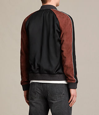 Hombre Bomber Atley (BLACK/RUST RED) - product_image_alt_text_8