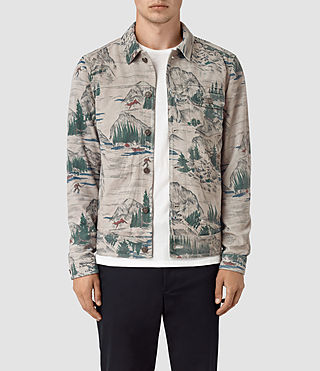 Men's Knox Suede Jacket (CANADA PRINT)