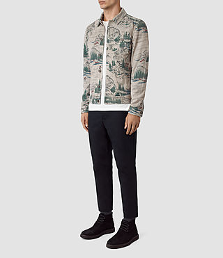 Mens Knox Suede Jacket (CANADA PRINT) - product_image_alt_text_2