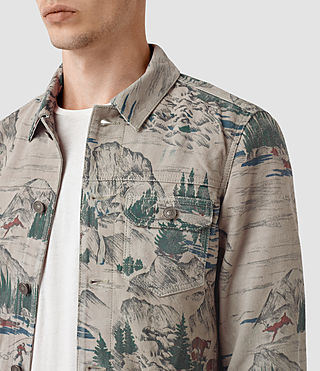 Mens Knox Suede Jacket (CANADA PRINT) - product_image_alt_text_3