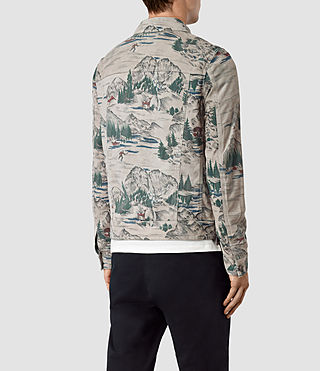 Mens Knox Suede Jacket (CANADA PRINT) - product_image_alt_text_4