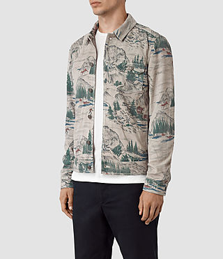 Mens Knox Suede Jacket (CANADA PRINT) - product_image_alt_text_5