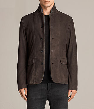 Herren Shorley Wildleder Blazer (charcoal/grey) - Image 1