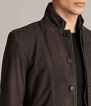 Men's Shorley Suede Blazer (charcoal/grey) - Image 2