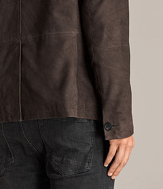 Herren Shorley Wildleder Blazer (charcoal/grey) - Image 5