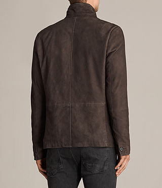 Men's Shorley Suede Blazer (charcoal/grey) - Image 6