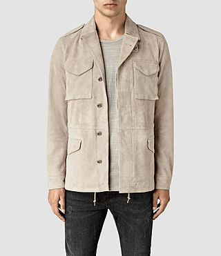 Men's Paxson Suede Jacket (Sand)
