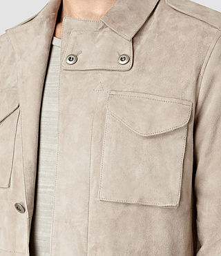 Uomo Paxson Suede Jacket (Sand) - product_image_alt_text_4