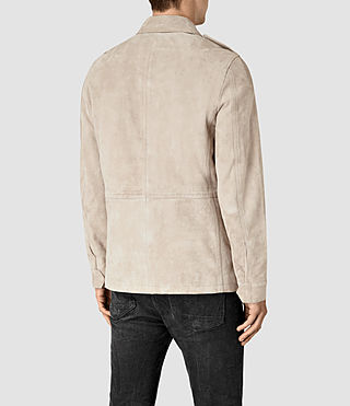 Uomo Paxson Suede Jacket (Sand) - product_image_alt_text_5