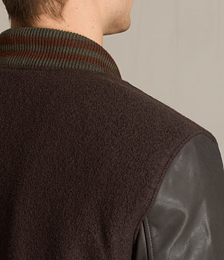 Hommes Bomber Buck (OXBLOOD RED/BROWN) - product_image_alt_text_4