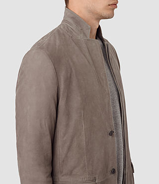Mens Kaioku Suede Blazer (Steel Grey) - product_image_alt_text_3