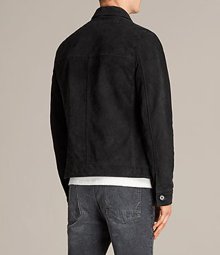 Men's Blake Suede Jacket (Black) - product_image_alt_text_8