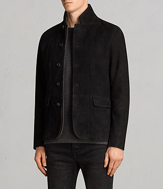 Men's Liath Suede Blazer (Black) - Image 3