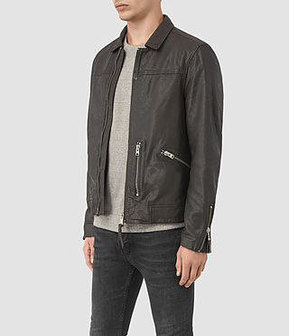 Uomo Hokusai Jacket (ANTHRACITE GREY) - product_image_alt_text_3
