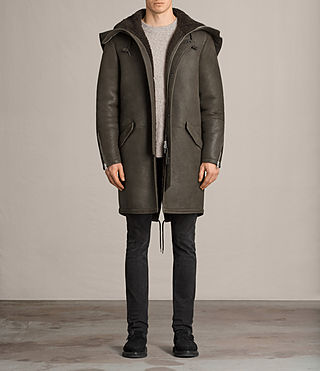 helm shearling parka