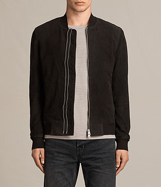 Hommes Bomber Tally (Black) -