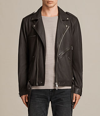 owen leather biker jacket