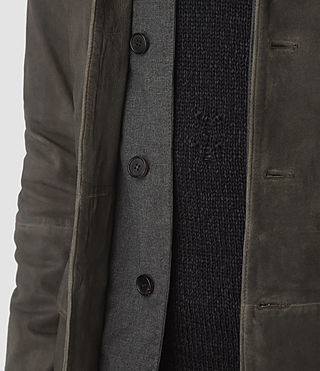 Mens Emerson Leather Blazer (Cement) - product_image_alt_text_3
