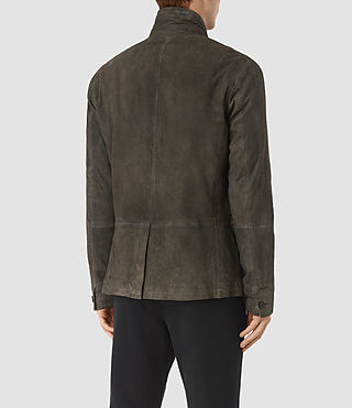 Mens Emerson Leather Blazer (Cement) - product_image_alt_text_6