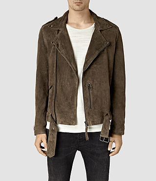 Hommes Takeo Biker (Khaki Brown)