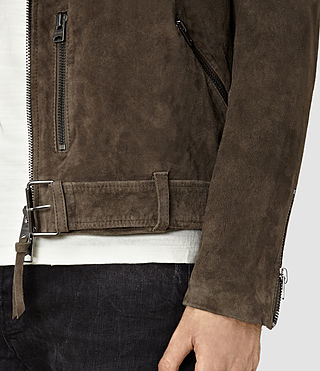 Hommes Takeo Biker (Khaki Brown) - product_image_alt_text_2