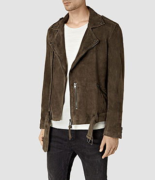 Hommes Takeo Biker (Khaki Brown) - product_image_alt_text_3