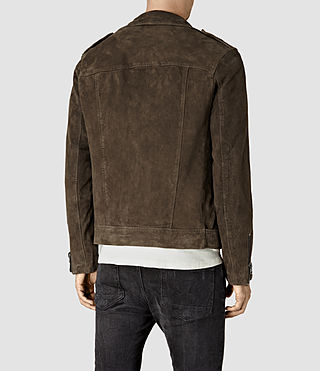 Hommes Takeo Biker (Khaki Brown) - product_image_alt_text_4
