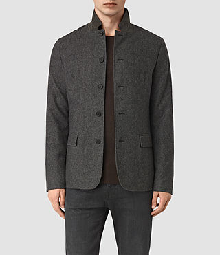 Mens Crane Blazer (Charcoal) - product_image_alt_text_1