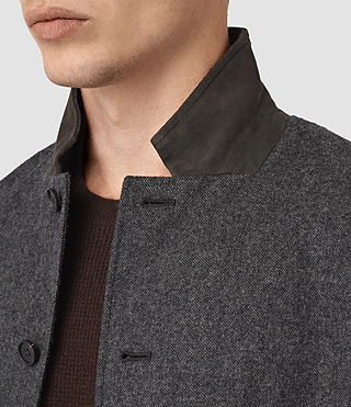 Mens Crane Blazer (Charcoal) - product_image_alt_text_2