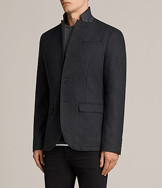 Men's Bayard Blazer (Charcoal Marl) - product_image_alt_text_3