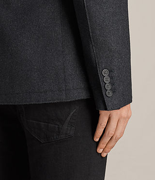 Men's Bayard Blazer (Charcoal Marl) - product_image_alt_text_4