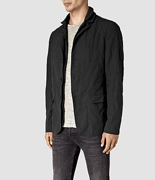 Mens Hiraku Blazer (Charcoal) - product_image_alt_text_3