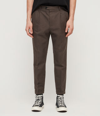 Mens Tallis Trouser (Khaki Green) - product_image_alt_text_1