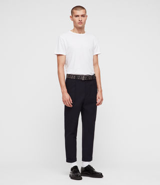 Uomo Tallis Trouser (INK NAVY) - product_image_alt_text_4