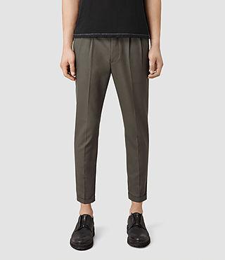 Hombre Tallis Trouser (KHAKIGREEN) - product_image_alt_text_1