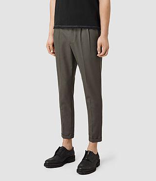 Hombre Tallis Trouser (KHAKIGREEN) - product_image_alt_text_2