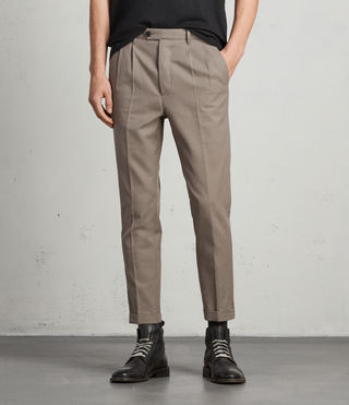 Hombre Tallis Trouser (SOFT KHAKI GREEN) - product_image_alt_text_1