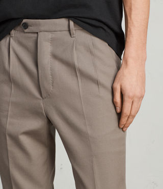 Hombre Tallis Trouser (SOFT KHAKI GREEN) - product_image_alt_text_2