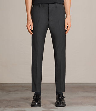 Men's Vernon Trouser (Charcoal Grey) - Image 1