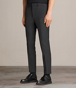 Men's Vernon Trouser (Charcoal Grey) - Image 3