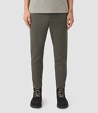 Mens Silas Pant (Khaki Green) - product_image_alt_text_1