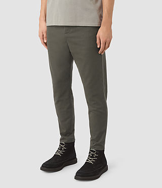 Uomo Silas Trouser (Khaki Green) - product_image_alt_text_2