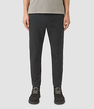 Uomo Silas Trouser (Charcoal Grey)