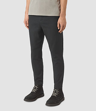 Hombres Silas Trouser (Charcoal Grey) - product_image_alt_text_2