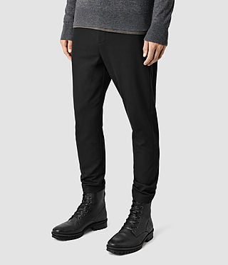 Herren Silas Trousers (Black) - product_image_alt_text_2