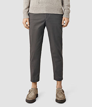 Hombres Corban Trouser (Charcoal)