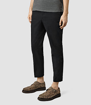 Men's Corban Trouser (Black) - product_image_alt_text_2
