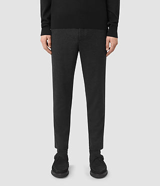 Uomo Irving Trouser (Black) -