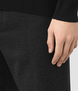 Uomo Irving Trouser (Black) - product_image_alt_text_2