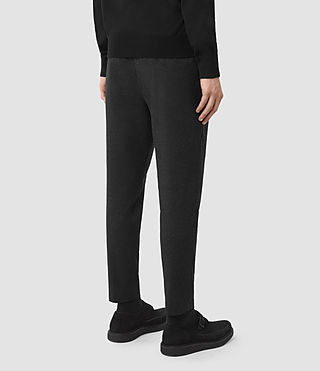 Uomo Irving Trouser (Black) - product_image_alt_text_3